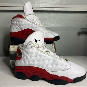 Air Jordan Cherry Red 13s size 7y